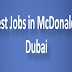 Latest Jobs in McDonald's | Dubai