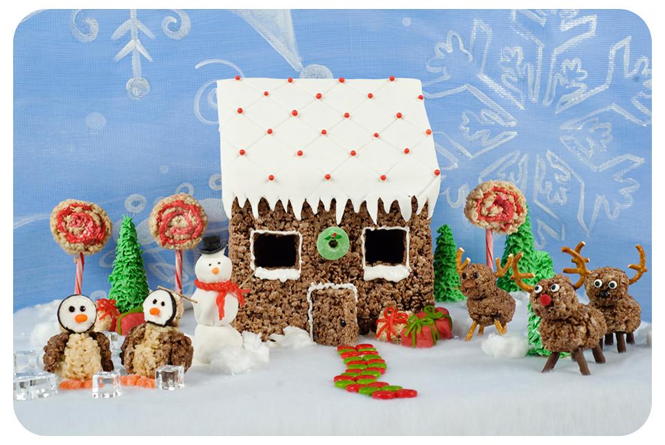 Kellogg S Rice Krispies Winter Wonderland Featuring Swirly