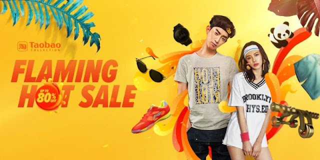 Taobao's Flaming Hot SALE!