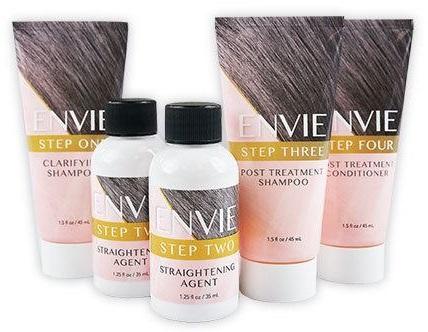Review: ENVIE Home Hair Straightening System #ENVIE
