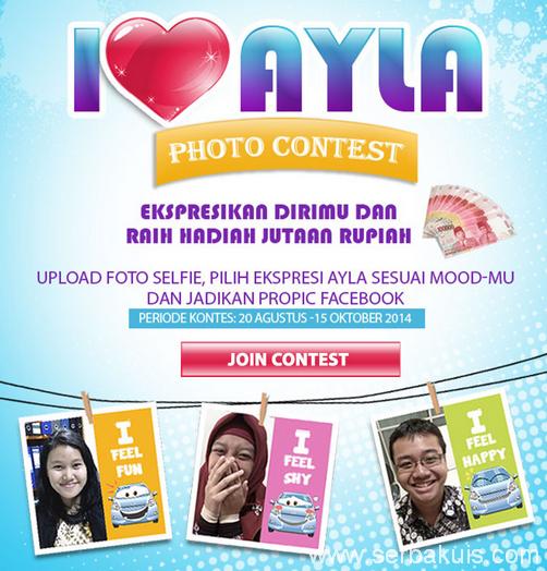 Kontes Foto I Love Ayla Berhadiah Uang Total 10 JUTA