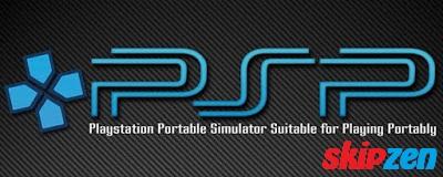 Emulator PSP (PPSSPP) +  ISO Game PSP
