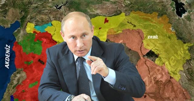 Referandum Kurdistan Rusya Tirkiya