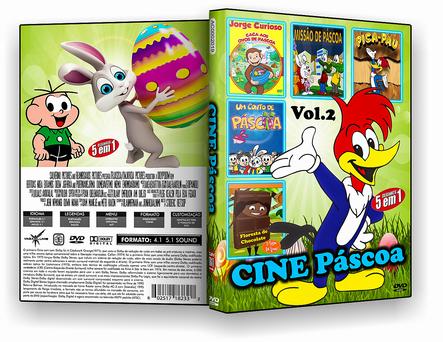CAPA DVD – Cine Pascoa 5 Em 1 Vol.2 – ISO