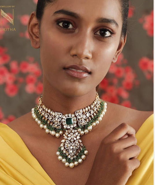 Polki and Diamond sets by Nikitha Linga