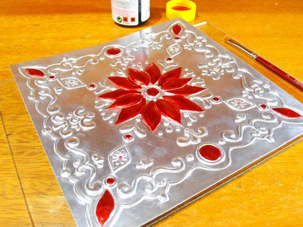 C mo pintar sobre el repujado en aluminio - Se puede pintar el aluminio ...