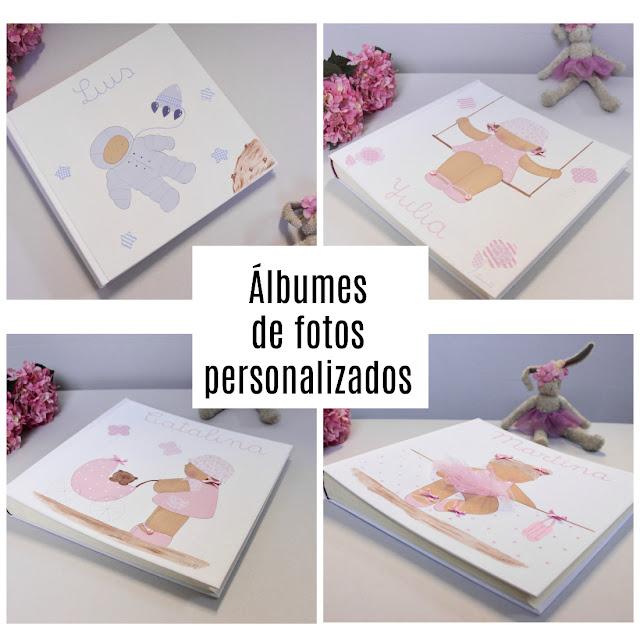 álbum de fotos infantil y personalizado