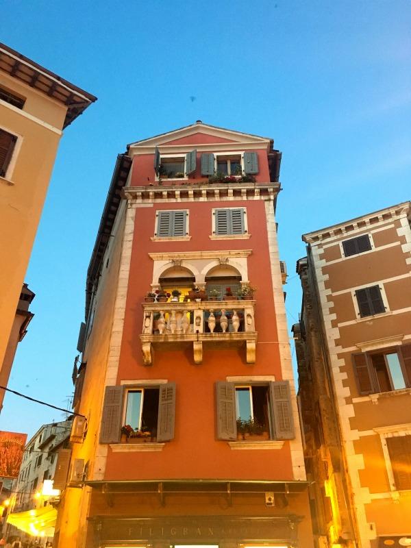 Die Altstadt von Rovinj, Istrien