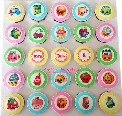 Birthday Cupcake Shopkins