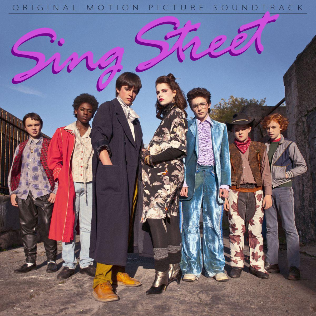 SING STREET de John Carney - portada banda sonora