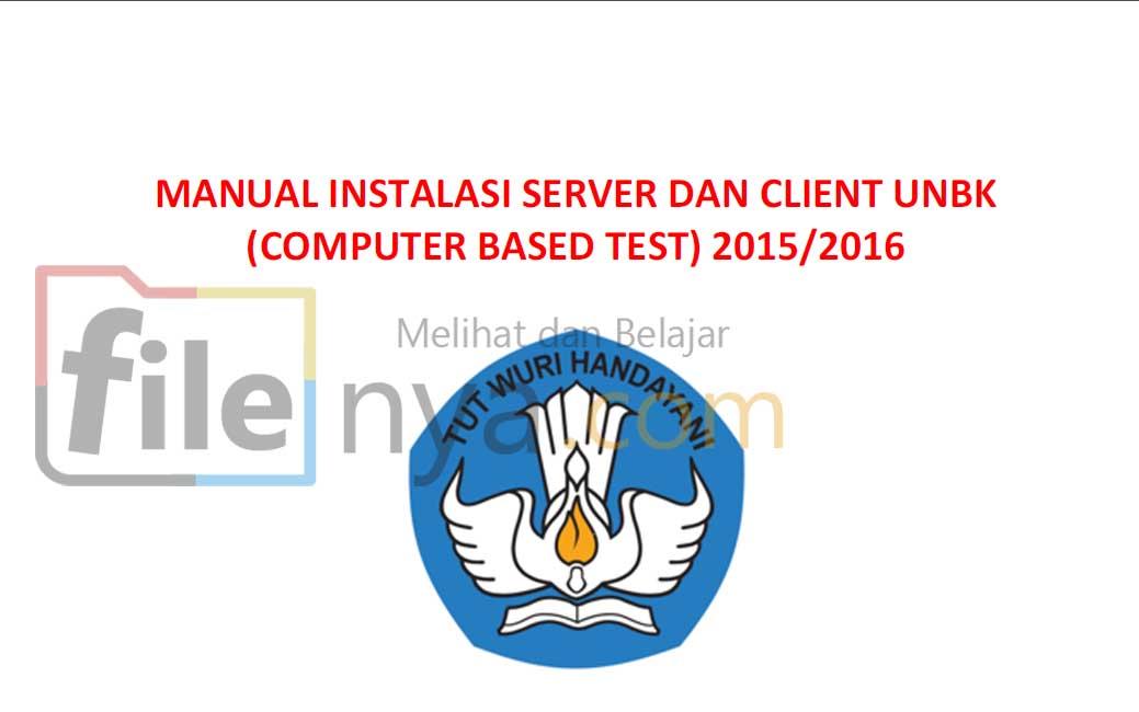 Panduan Instalasi Server Dan Client Unbk Cbt Computer
