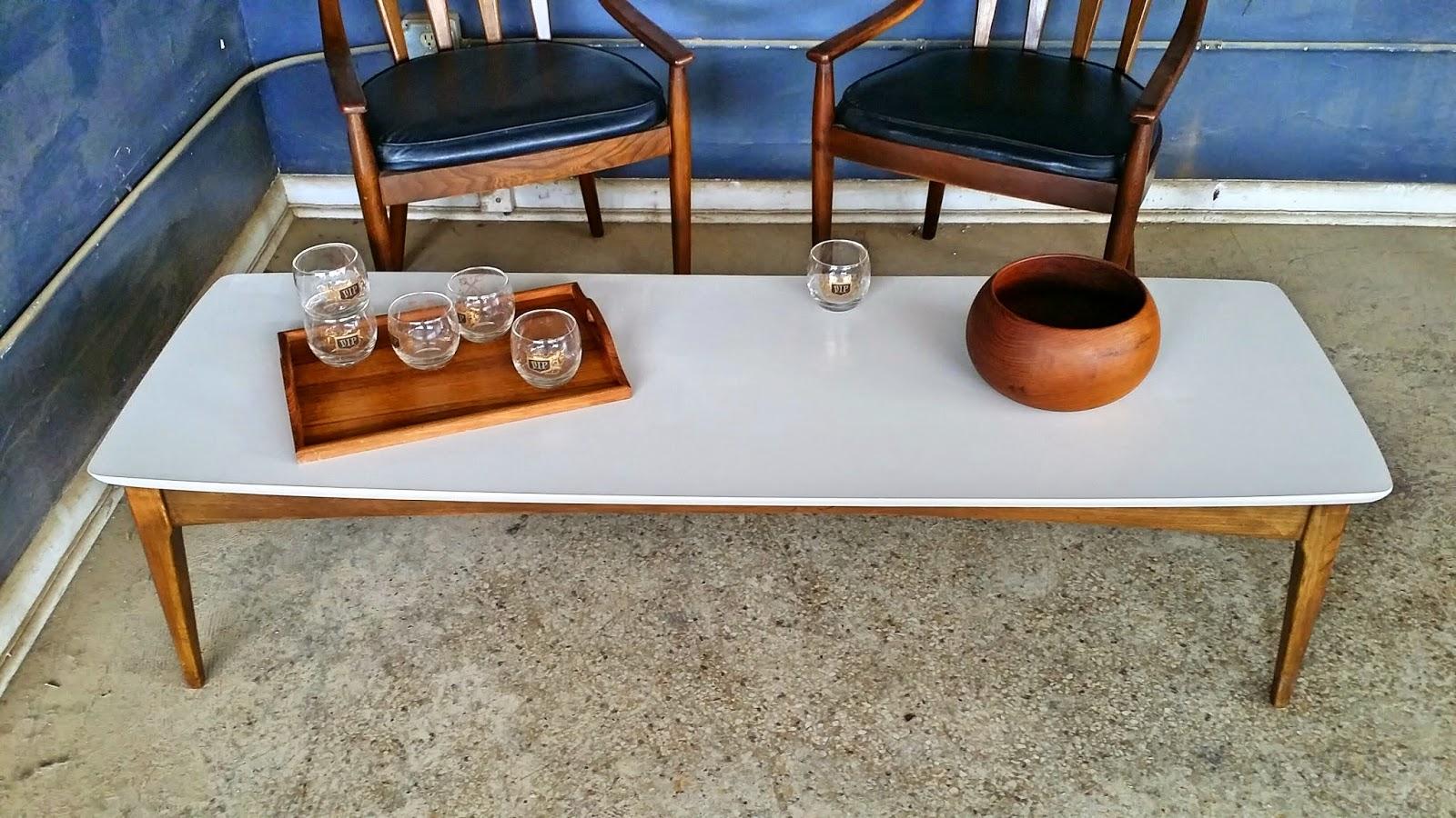 Vintage Ground: Mid Century Cocktail Table / Coffee Table