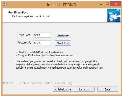 Cara Instal PD DIKTI v2.0