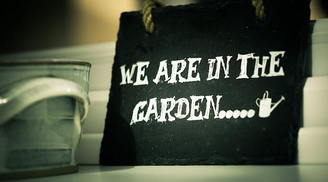 We Are In The Garden Quotes HD Wallpaper