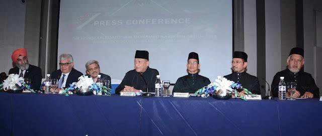 Mr. Guldeep Singh Sahni, Mr. Pradip Lulla,Mr. Rajan Sehgal, Hon.Dato' Seri Mohamed Nazri Bin Abdul Aziz, Datuk Rashidi Hasbullah and Dato' Sri Hj Mustafar Hj. Ali