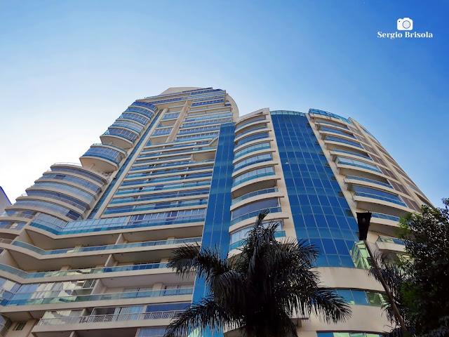 Perspectiva inferior do Edifício Çiragan Home - Bela Vista - São Paulo