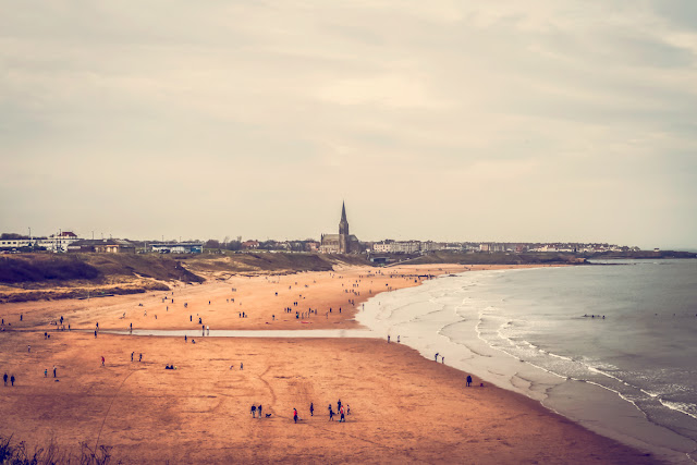 tynemouth beach by newcastle photographer, mandy charlton