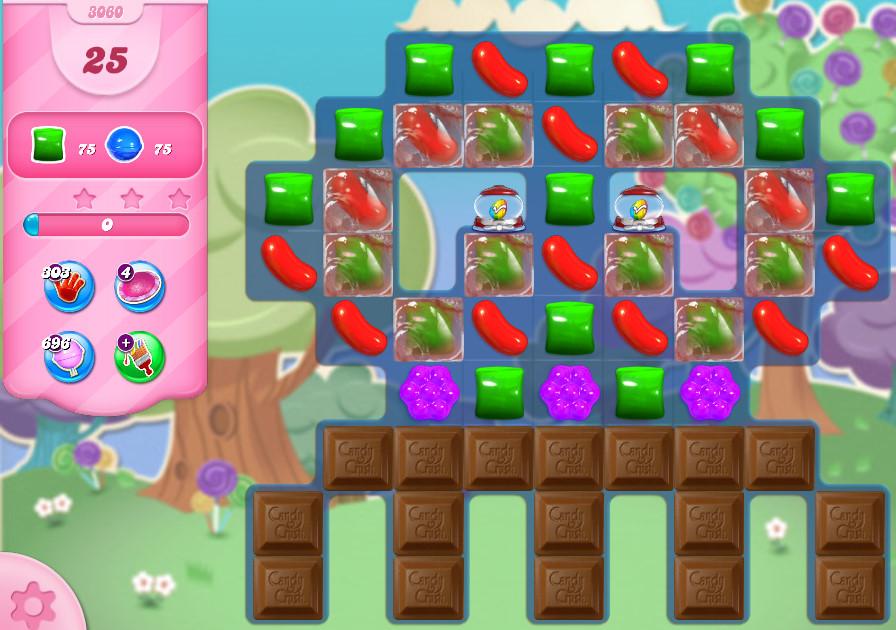 Candy Crush Saga level 3060