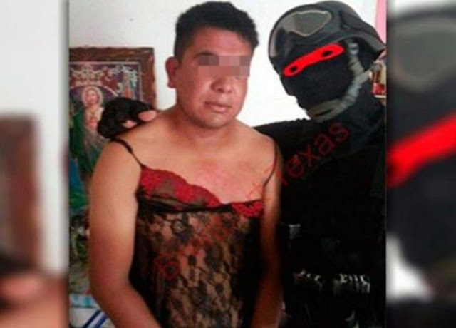 """El temible """"Marino Loko"""" que caza narcos y los viste con lencería"""