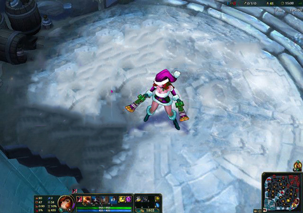 Mod Skin Candy Cane V2 Miss Fortune