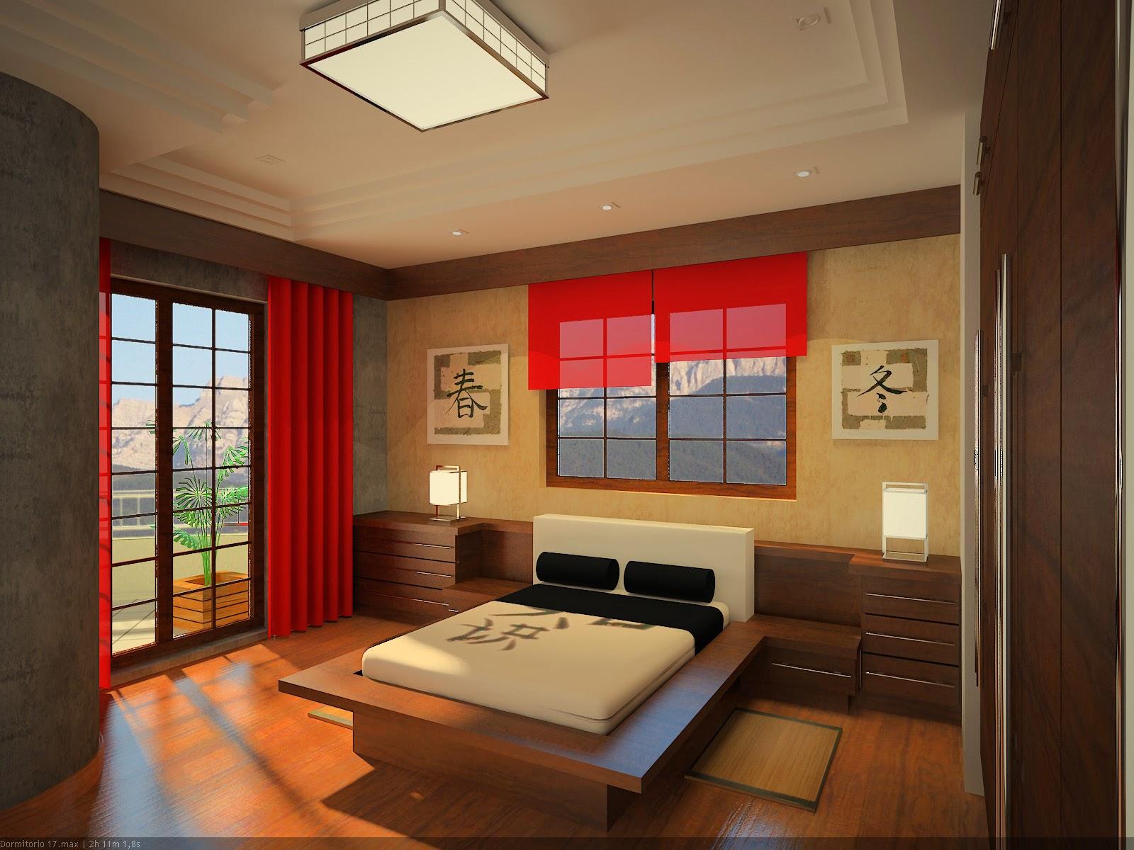 Muebles x muebles decorar dormitorio con estilo zen o japones - Decoracion zen dormitorio ...