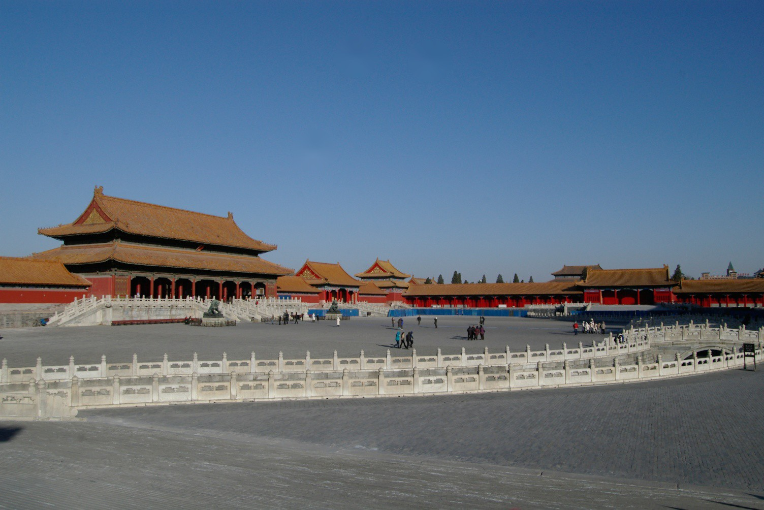 Forbidden City or Palace Museum China
