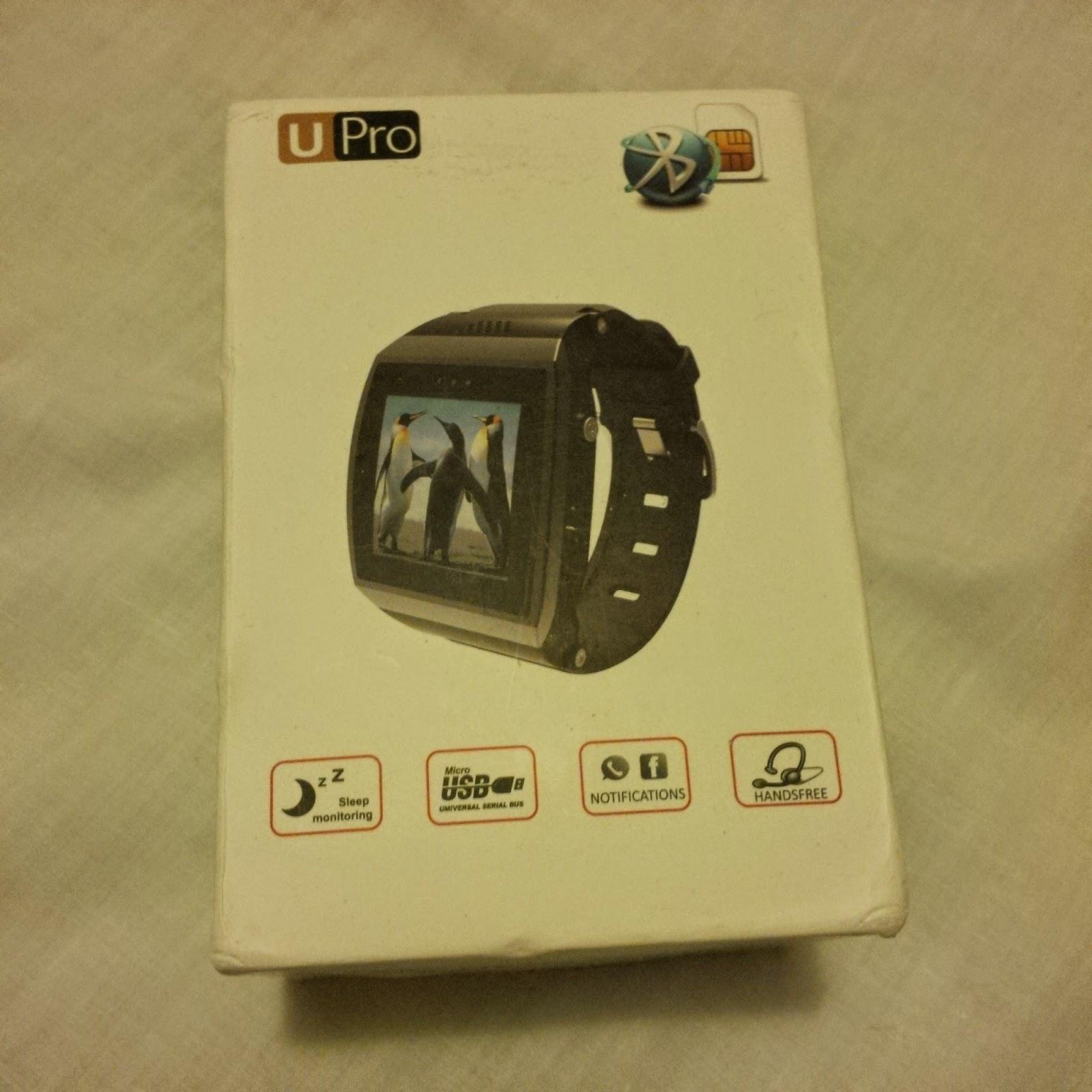 My Tech Blog: U8 Pro (U8Pro or UPro1 or U Pro1) Smartwatch