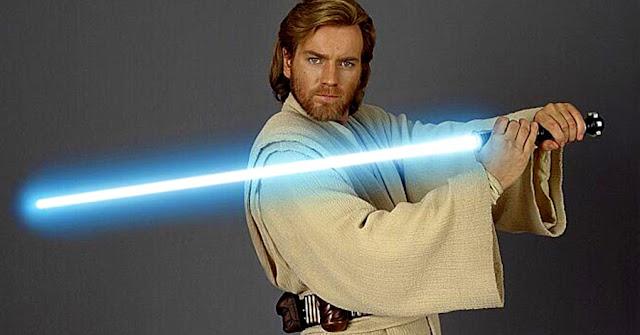 Young Obi Wan Kenobi - Ewan McGregor