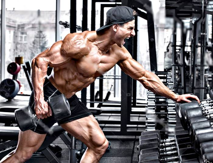 Rutina de entrenamiento efectiva para hombres ectomorfos o muy flacos para ganar masa muscular