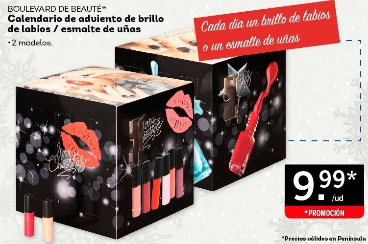 Calendario De Adviento Maquillaje.Calendario De Adviento De Lidl Moda Y Belleza A Low Cost