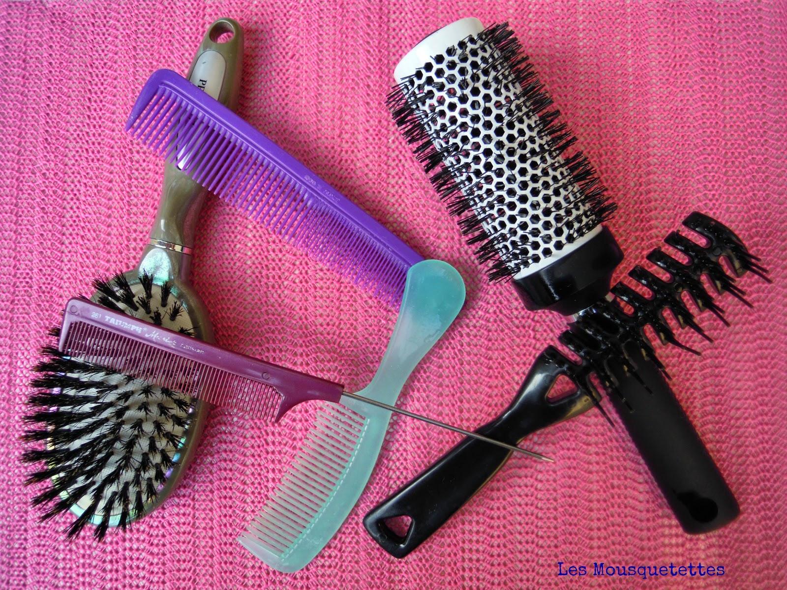 Entretien des brosses et peignes finis - Les Mousquetettes©