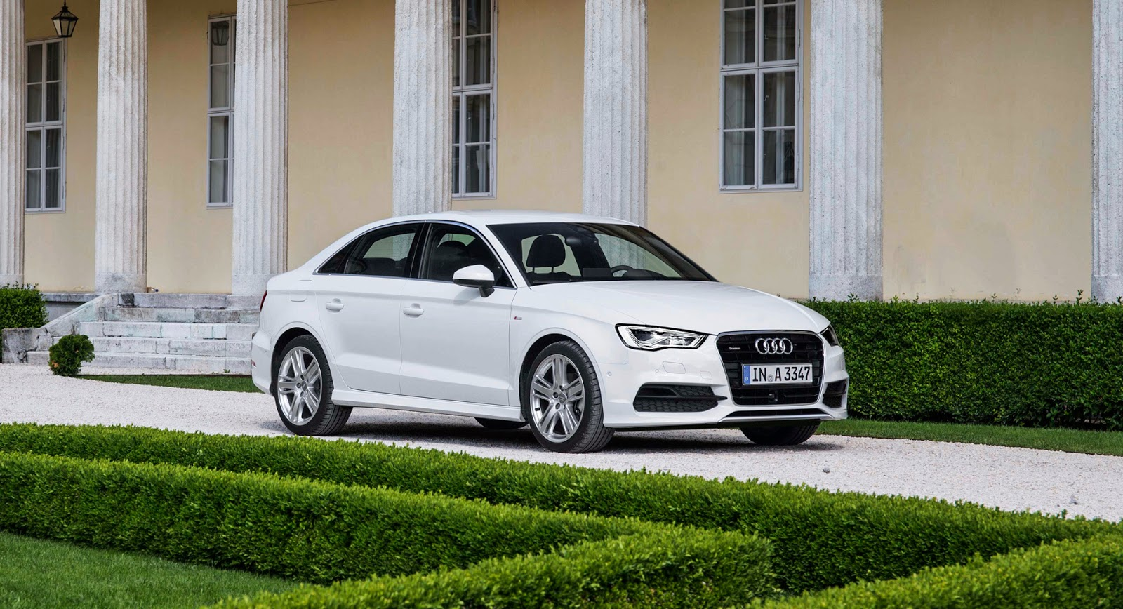 Audi A3 Sedan - High Wheels