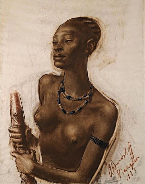 Alexandre Yevgenievich Yakovlev: Donna della tribù Mangbetu
