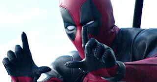 deadpool 2: mas imagenes de domino en el set