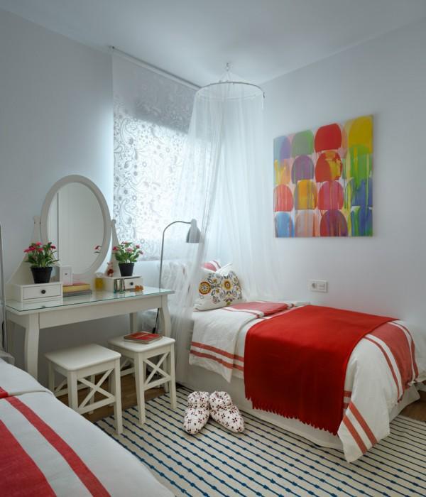 dormitorio juvenil con muebles ikea