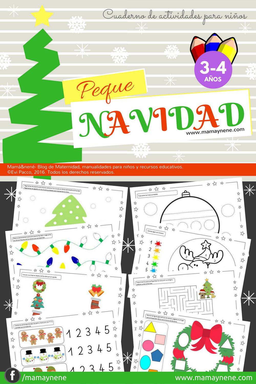 Cuaderno De Actividades Peque Navidad Mama Nene Maternidad Y