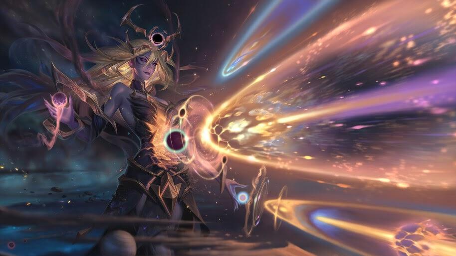Lux, Dark Cosmic, LoL, 4K, #7.1812