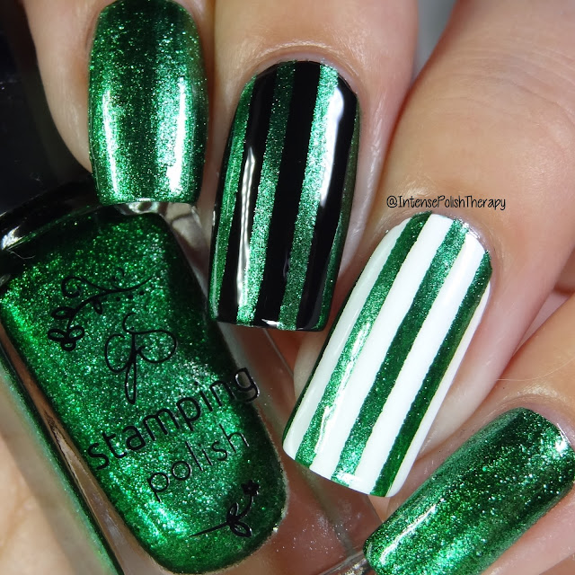 Clear Jelly Stamper - 061 Glitzy Evergreen