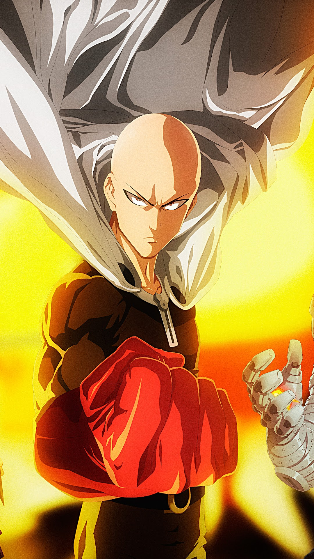 One Punch Man Iphone Xs Wallpaper - Anime Wallpaper HD