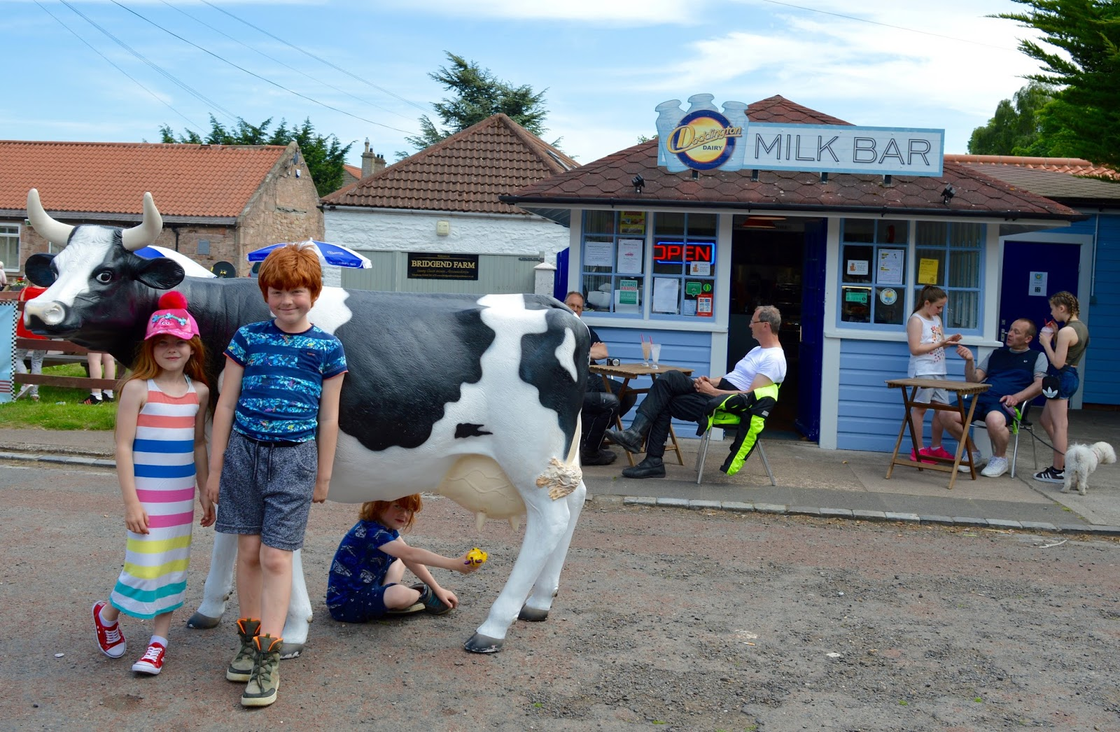 The Doddington Dairy Milk Bar Wooler | Award Winning Ice Cream & treats near the A697 in Northumberland