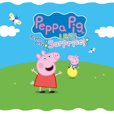 Peppa Pig, tickets, Peppa Pig Fox theatre, Detroit, things to do, Metro Detroit, Peppa Pig Live Surprise