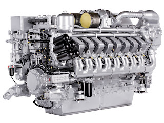 methanol fueled marine diesel engine