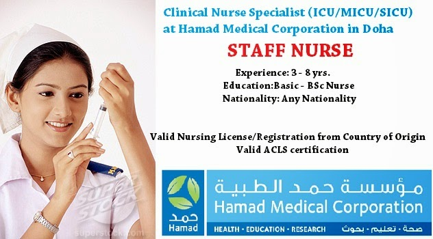 Dialysis nurse job vacancy in qatar