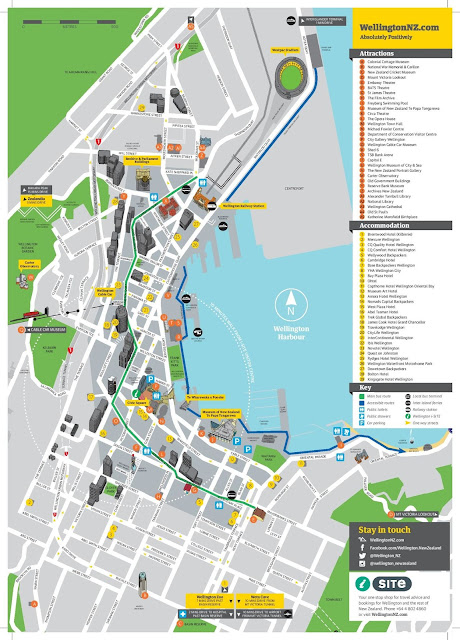 Wellington Downtown Map