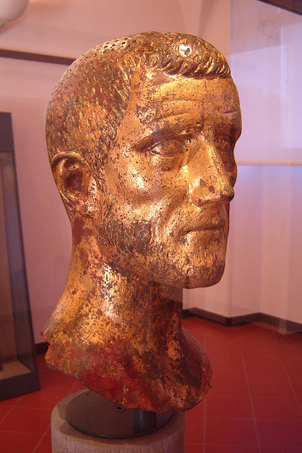 bronze busts of Claudius II