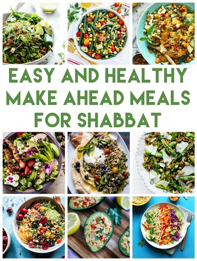 Make Ahead Meals for Shabbat
