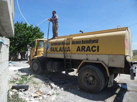 Su Sorununu Bozova Belediyesi Çözdü