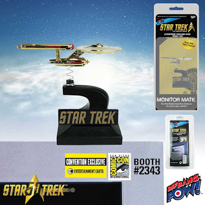 San Diego Comic-Con 2016 Exclusive Star Trek: The Original Series 24K Gold Plated Enterprise Monitor Mate by Bif Bang Pow! x Entertainment Earth
