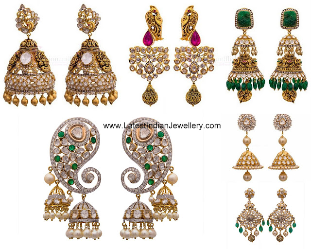 Tanya Rastogi Antique Earrings