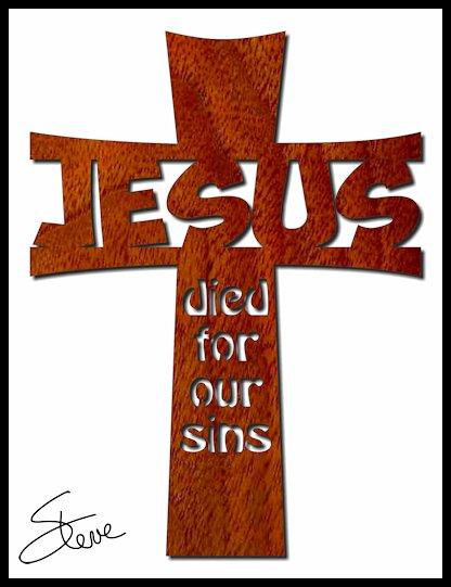 Scrollsaw Workshop: Jesus Cross Scroll Saw Pattern.